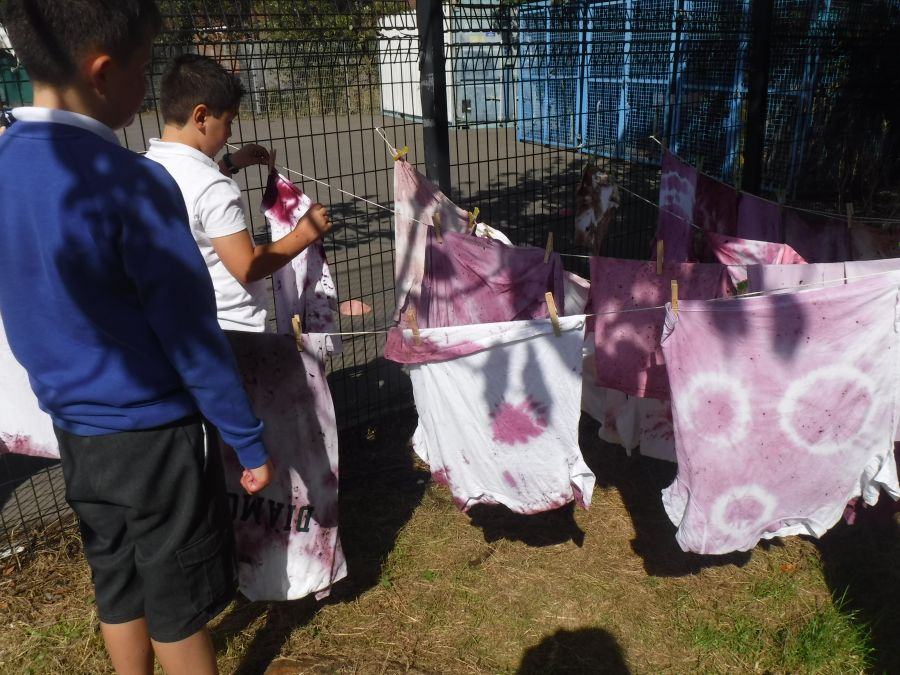 Recycling-T-shirts-and-Tie-Dye