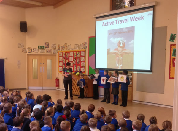 Active travel assembly