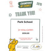 Children in Need Thank you